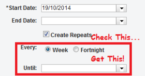 Picture of a checkbox that is used to hide some additional fields